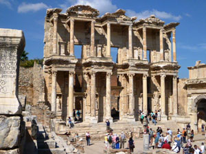 Turkey: Library at Ephesus